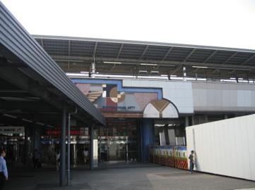 横浜地区No1−6 新横浜駅周辺の変貌その2(港北区) 2008年8月作成